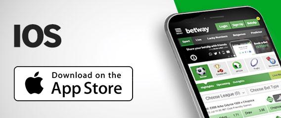 través de app de la empresa Betway