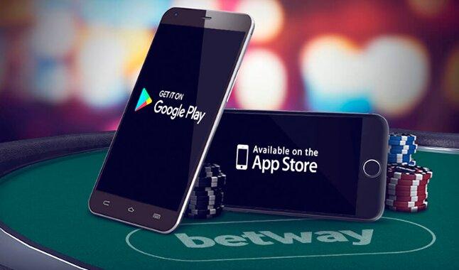 App de alta calidad de la casa de apuestas Betway